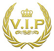 V.I.P Golden Laurel Wreath