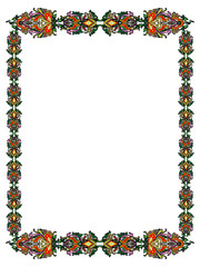 Frame in the Russian style
