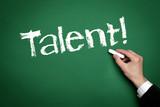 Talent poster