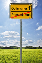 Optimismus Pessimismus