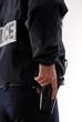 policier intervention arme sécurité
