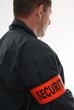 agent de sécurité brassard
