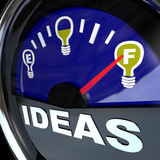 Full of Ideas - Innovation Fuel Gauge for Success