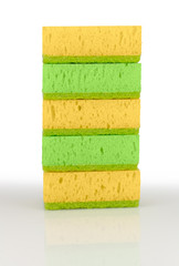 Colorful sponges.