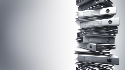 Office Binders Stack (Loop)