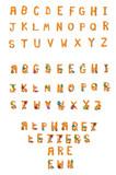 Alphabet Set Fuzzy Wuzzy A to Z poster