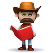 3d Sheriff reads the big red book