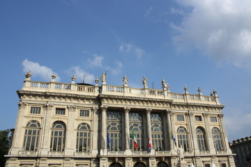 Madama Palace in Turin, Italy