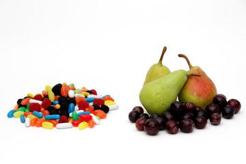 Fruta o gominolas