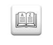 Boton cuadrado blanco diccionario