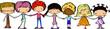 мультфильма милые дети, держась за руки
