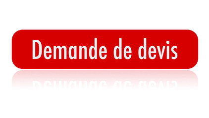bouton - demande de devis - rouge