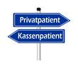 Kassenpatient - Privatpatient