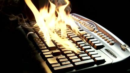 tastiera calda