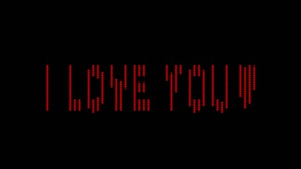 "Old Fashoned Billboard""i love you"" incl Alpha"