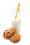 Milk and cookies (orange tube)