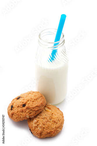 Milk and cookies (blue tube)