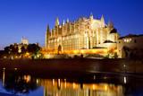Fototapety Cathedral of Majorca in Palma de Mallorca Balearic islands