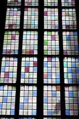 window in Stephansdom in Vienna