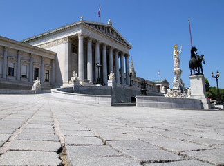 Austrian Parlament in Vienna