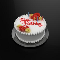 torta di buon compleanno