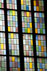 window of Stephansdom in Vienna