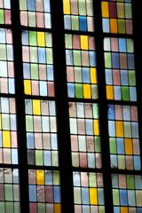 window of Stephansdom in Vienna