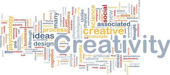 Creativity creative background concept