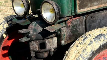 tracteur agricole mecanique
