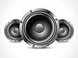 abstract sound speaker