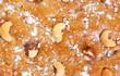 Surface of  fresh  honey cake