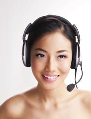 Headphone Lady