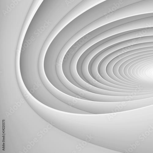 White Architectural Shape © Max Krasnov