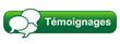 Bouton Web TEMOIGNAGES (avis utilisateurs clients vote opinions)