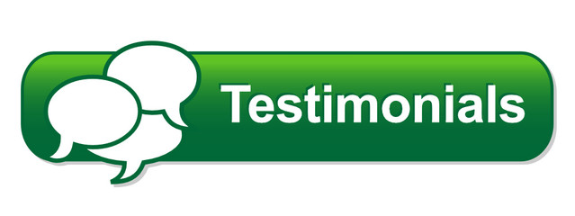 TESTIMONIALS Web Button (customer service satisfaction opinions)