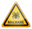 "Hazard Sign ""Malware"""