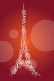 eifel tower poster
