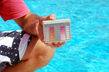 analizzatore del pH per piscine