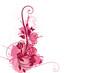floral rose fluo