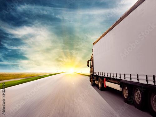 mata magnetyczna Truck at Sunset