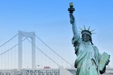Replica of the Statue of Liberty, Tokyo poster