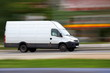 Blur white van