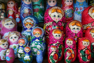 "Russian Dolls  ""Matreshka"""