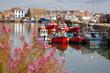 Leinwanddruck Bild - Howth harbour