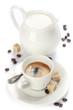 italian espresso and milk