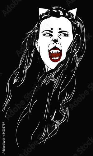 Catwoman vampire