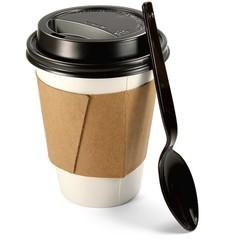 Cofe To Go mit Löffel