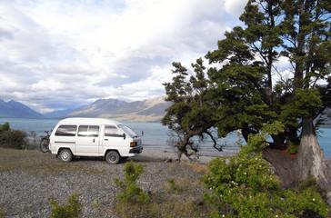 Caravan camping New Zealand