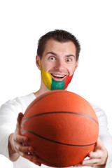 Lithuania basketball fan