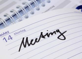 Kalender Meeting